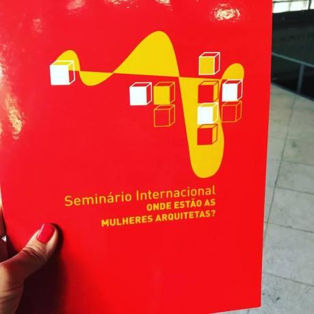 Seminário internacional 'Onde estão as Mulheres Arquitetas?'